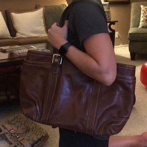 Coach business satchel/purse